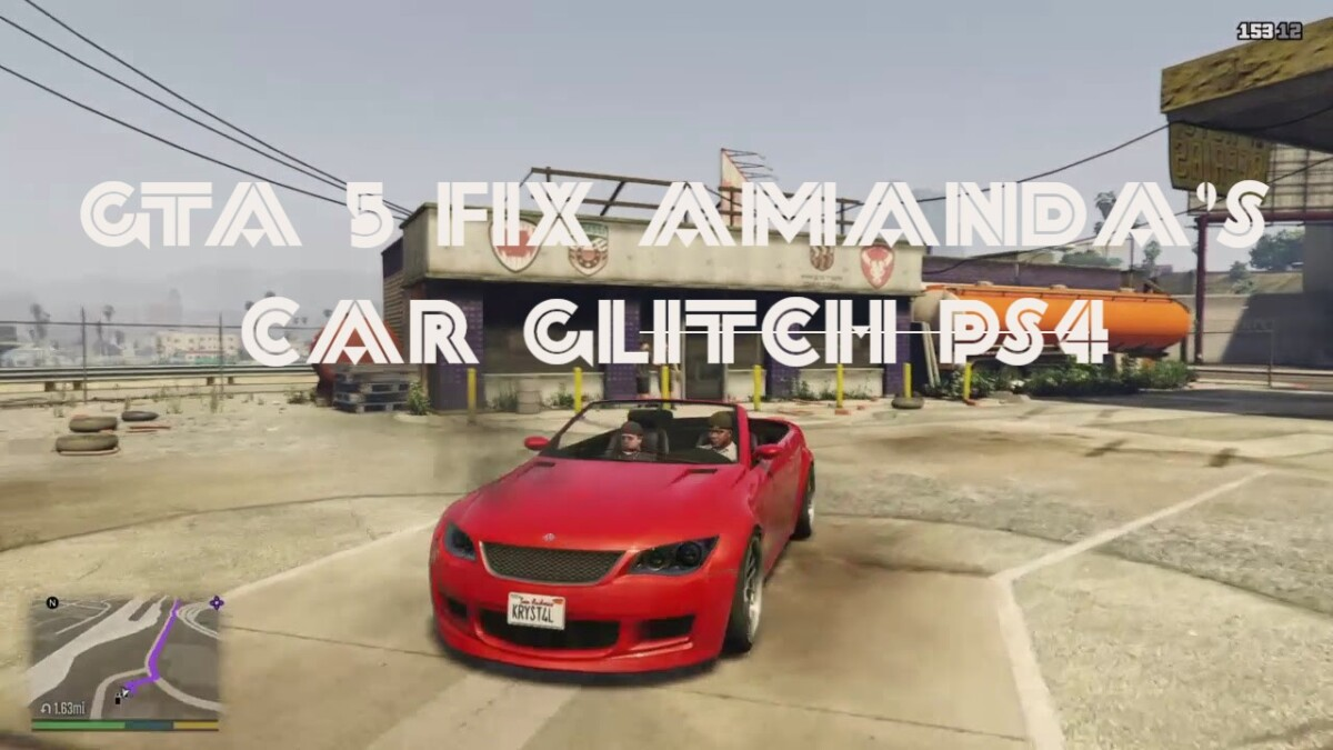 GTA 5 Amanda's Car Glitch PS4